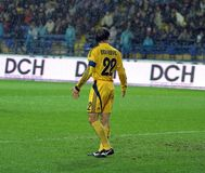 Metalist Kharkiv contre PSV Eindhoven Photographie stock