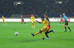 Metalist Kharkiv vs. PSV Eindhoven Stock Images