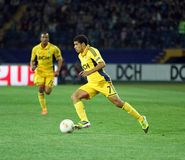 Metalist Kharkiv vs Rapid Wien football match Royalty Free Stock Photos