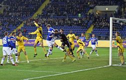 Metalist Kharkiv vs. Sampdoria Genoa Stock Images
