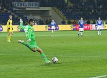 Metalist Kharkiv vs. Sampdoria Genoa Stock Photo