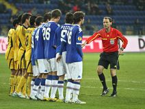 Metalist Kharkiv vs. Sampdoria Genoa Royalty Free Stock Image