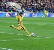 Metalist Kharkiv vs Shakhtar football match Royalty Free Stock Photos