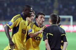 Metalist Kharkiv vs Shakhtar football match Royalty Free Stock Image