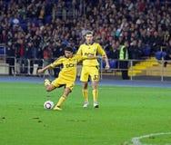 Metalist Kharkiv vs Shakhtar football match Stock Photos