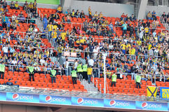 Metalist team fans sector Royalty Free Stock Image