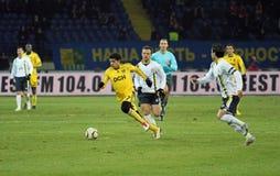 Metalist vs. Metallurg Donetsk football match Royalty Free Stock Photography