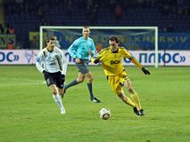 Metalist vs. Metallurg Donetsk football match Stock Image