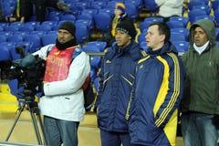 Metalist vs. Metallurg Donetsk football match Stock Photography