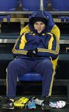 Metalist vs. Metallurg Donetsk football match Stock Images