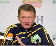 Metalist vs. Metallurg Donetsk football match Royalty Free Stock Image