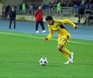 Metalist vs Metalurh soccer match Stock Photos