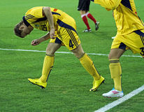 Metalist  vs Metalurh  soccer match Stock Image