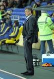 Metalist vs Metalurh Zaporizhya soccer match Stock Photo