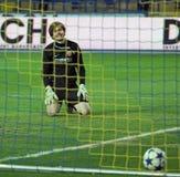 Metalist vs Metalurh Zaporizhya soccer match Royalty Free Stock Photography