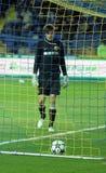 Metalist vs Metalurh Zaporizhya soccer match Stock Photography