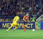 Metalist vs Shakhtar Donetsk football match Stock Image