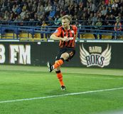 Metalist vs Shakhtar Donetsk football match Royalty Free Stock Photography