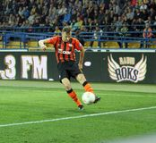 Metalist vs Shakhtar Donetsk football match Stock Images