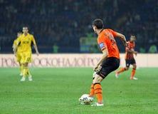 Metalist vs Shakhtar Donetsk football match Royalty Free Stock Photography