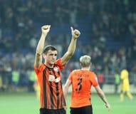 Metalist vs Shakhtar Donetsk football match Stock Photo