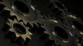 Metallöglaskugghjul stock illustrationer