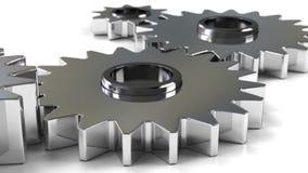 Metallöglaskugghjul vektor illustrationer