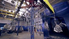 metall零件工业绘画  股票录像