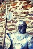 Metall adelt Rüstung Lizenzfreies Stockfoto