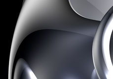 Metall&chrom de plata ilustración del vector