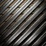 Metall auf Wand lizenzfreie abbildung