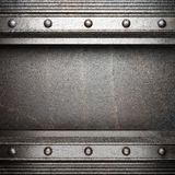 Metall background. Made in 3D Royalty Free Stock Image