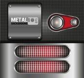 Metall-backgrund Vektor Abbildung