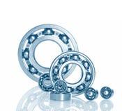 Metall Ball bearings. Industrial design stock photos