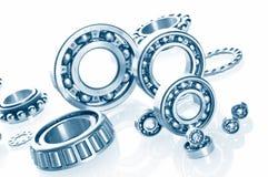 Metall Ball bearings. Industrial design royalty free stock image
