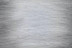 Metall borstad textur, borstad Aluminum hög upplösningsbakgrund Royaltyfri Fotografi