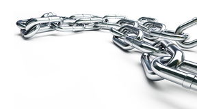 Metall chain Stock Photography