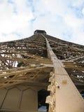 Metall-contructions des Eiffelturms, Paris Frankreich lizenzfreie stockfotografie