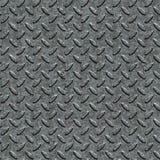 Metall Diamond Plate. Sömlös Tileable textur. Fotografering för Bildbyråer