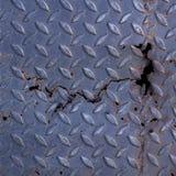 Metall Diamond Plate Texture Background Lizenzfreies Stockfoto