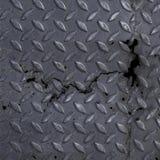 Metall Diamond Plate Texture Background Stockfotos