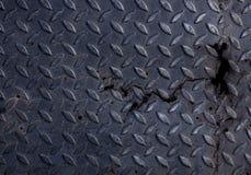 Metall Diamond Plate Texture Background Lizenzfreie Stockfotografie