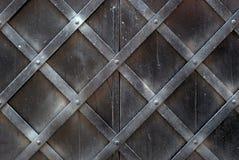 Metall door Stock Image