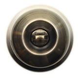 Metall drzwiowa rękojeść. Obraz Stock