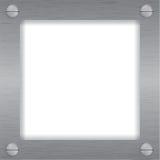 Metall-, Eisenabbildung oder Fotofeld Lizenzfreies Stockbild