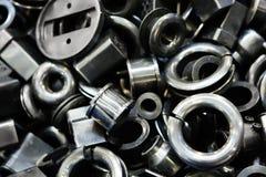 Metall Ersatzteile stockfoto