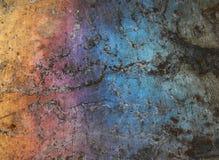 metall för bakgrundscolorfullgrunge Royaltyfria Foton