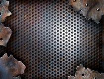 metall för bakgrundssprickagrunge arkivfoto