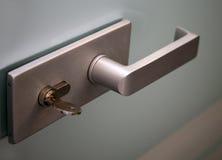 metall för dörrhandtag royaltyfri foto