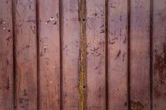 Metall för korrugerat järn Arkivfoto
